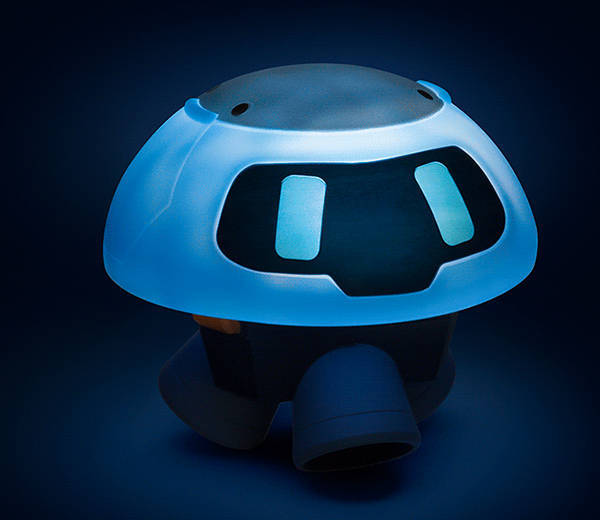 Overwatch Snowball LED Mood Lamp  Gadgetsin