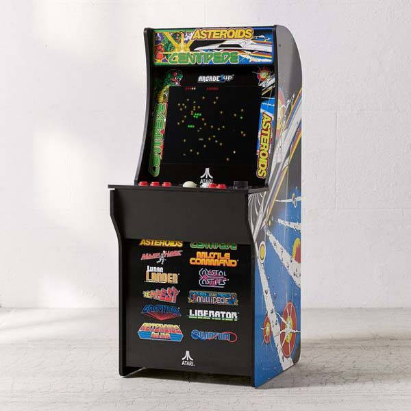 ATARI 1Up Arcade Machine With 12 Classic Games Gadgetsin