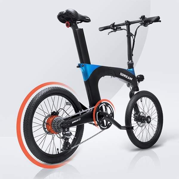 SDREAM Ur Suspension Folding Electric Bike   Gadgetsin