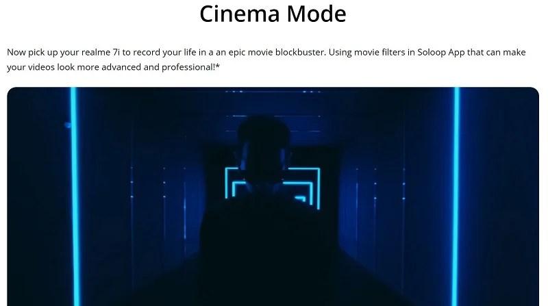 Video Cinema Mode