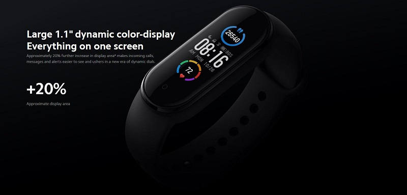 Dynamic Color-Display