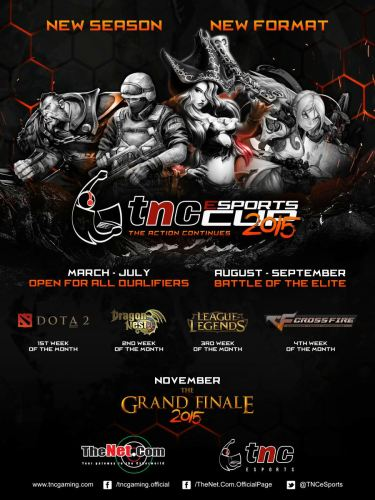 TNC Esports Cup 2015 Poster