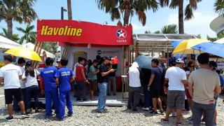 Havoline Booth at the ToyoFest (1)