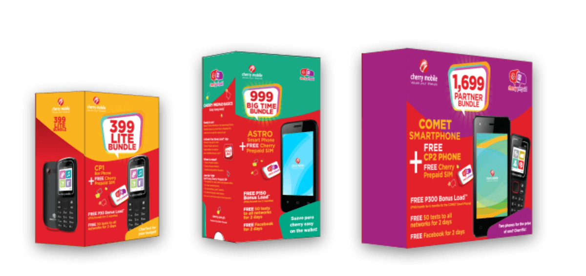 Cherry Mobile and Globe Telecom team up to offer Cherry Prepaid