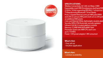 Quick Look: Google Wifi
