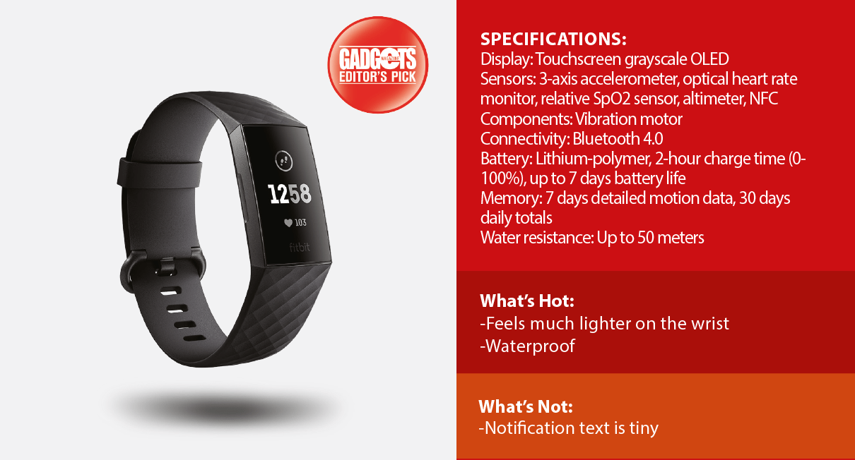 Reviewed: Fitbit Charge 3