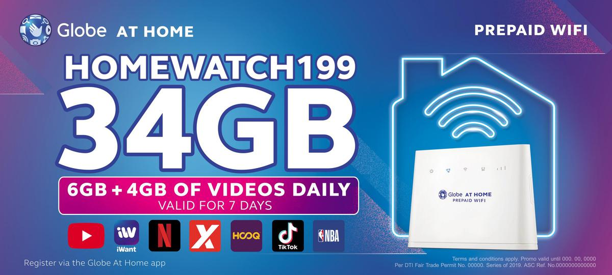 Globe At Home Prepaid Wifi Introduces New Data Promos With Free
