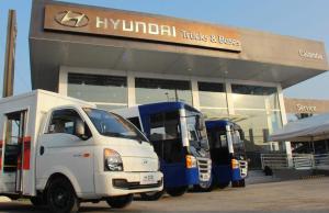 Hyundai modern jeepneys