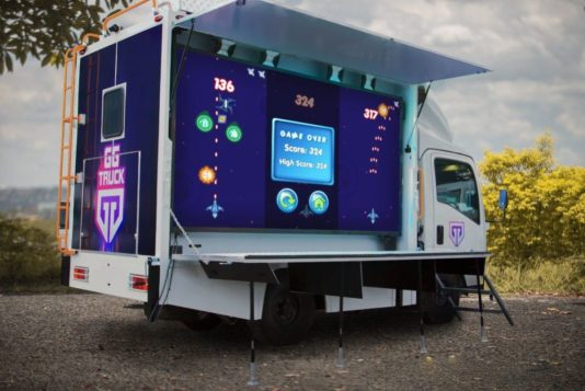 Southeast Asia's first pop-up gaming truck hits Philippine streets