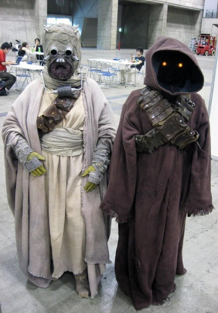 Cosplay Star Wars Jawa Robe Costume Prop Gadgets Matrix