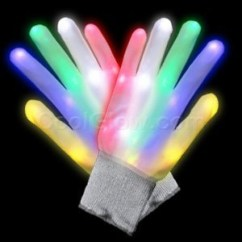 Cool Kitchen Gadgets Shop World Coupon Led Glow In The Dark Light Up Rainbow Raver Gloves ...