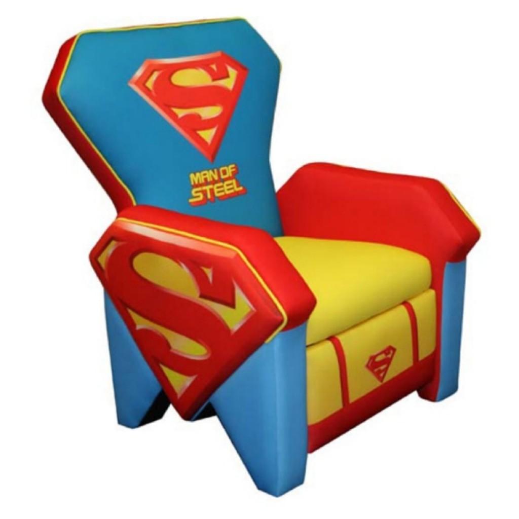 superhero bean bag chair toddler rocking chairs superman icon recliner  gadgets matrix