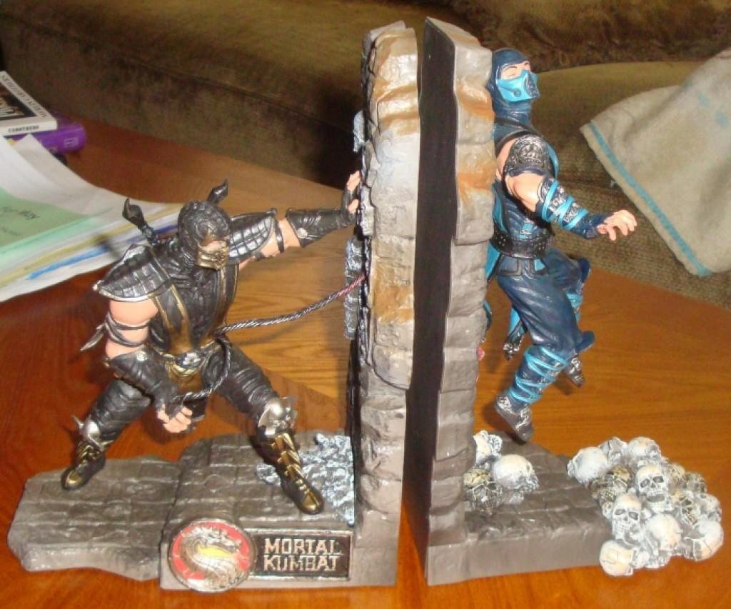 Mortal Kombat 9 Bookends  Gadgets Matrix