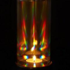 Fun Kitchen Gadgets Gray Backsplash Rainbow Crystal Prism Candle Lantern – Matrix