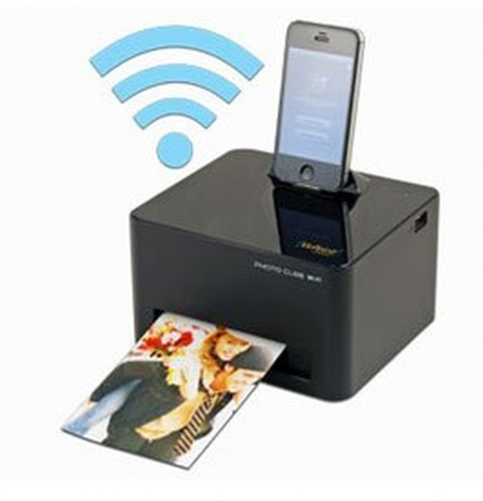 VuPoint Solutions WiFi Photo Cube Portable Print  Gadgets