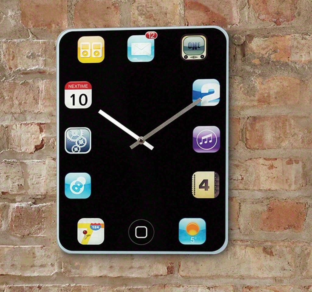iPhone Wall Clock  Gadgets Matrix
