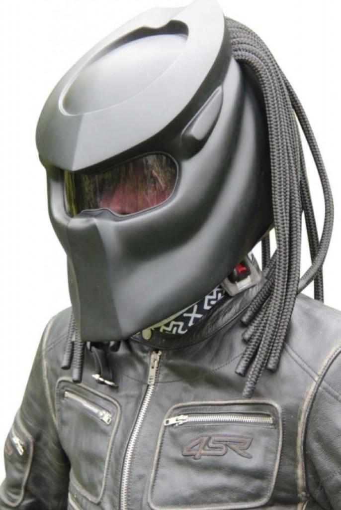 Predator Motorcycle Helmet  Gadgets Matrix
