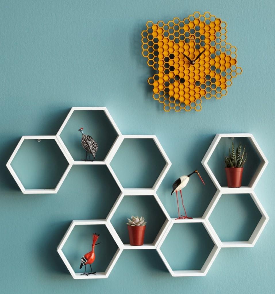 honeycomb shelf  Gadgets Matrix