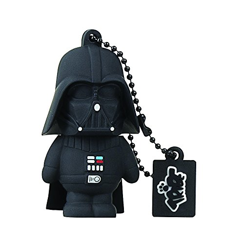 Tribe-Star-Wars-FD007501-16-Go-Cl-USB-Flash-Drive-20-Porte-Cls-Dark-Vador-Noir-0