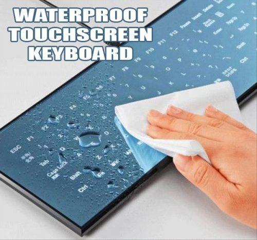 Clavier d'ordinateur tactile