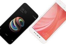 Xiaomi Redmi 5A vs Xiaomi Redmi Note 5A