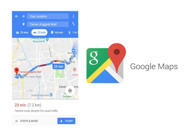 GadgetSquad.id – Google Maps makin banyak diandalkan oleh pengguna sebagai  aplikasi peta digital untuk petunjuk jalan. Baik yang menggunakan  transportasi ... c309f70711