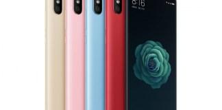 Spesifikasi Xiaomi Mi 6X