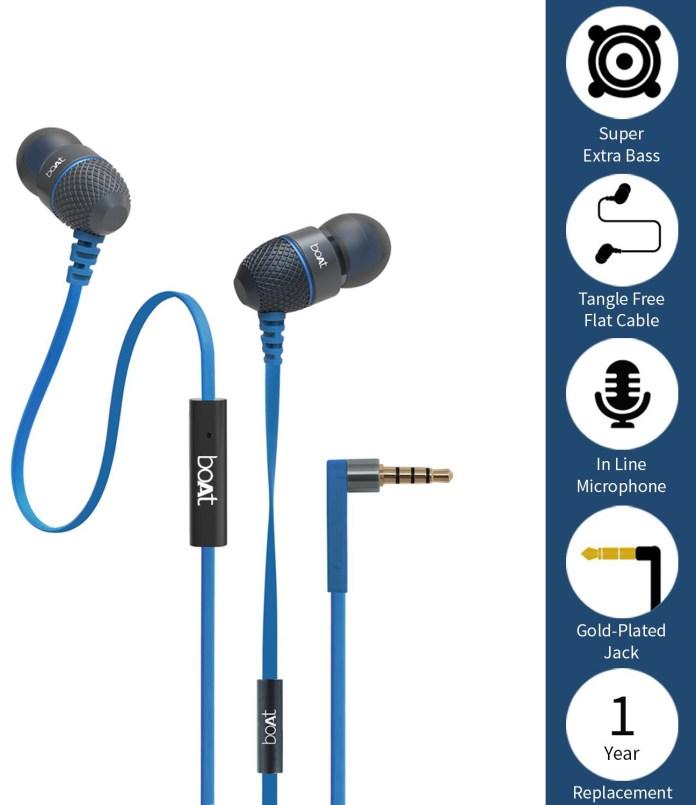 BoAt-BassHeads-225-best-earphones-under-500