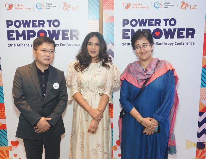 Richa Chadda and Atishi Marlena