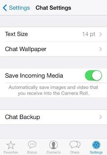 Исправление WhatsApp изображений, не отображаемых в галерее iOS