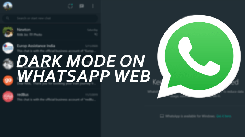 How to Get Dark Mode on WhatsApp Web – Gadgets To Use