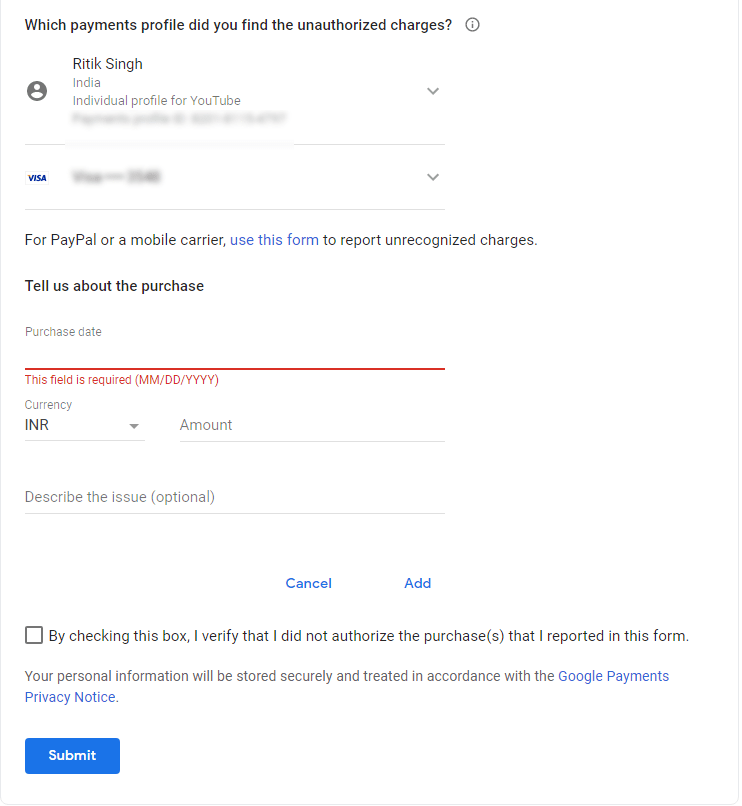 Working 3 Days To Get Refund From Play Store For