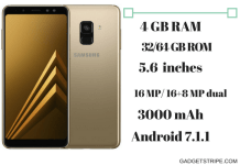 samsung galaxy a8 specs and features