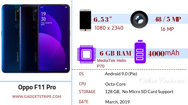 Oppo f11 Pro Gadgetstripe