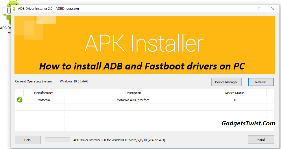 How to install ADB and Fastboot drivers on Windows 10, 8