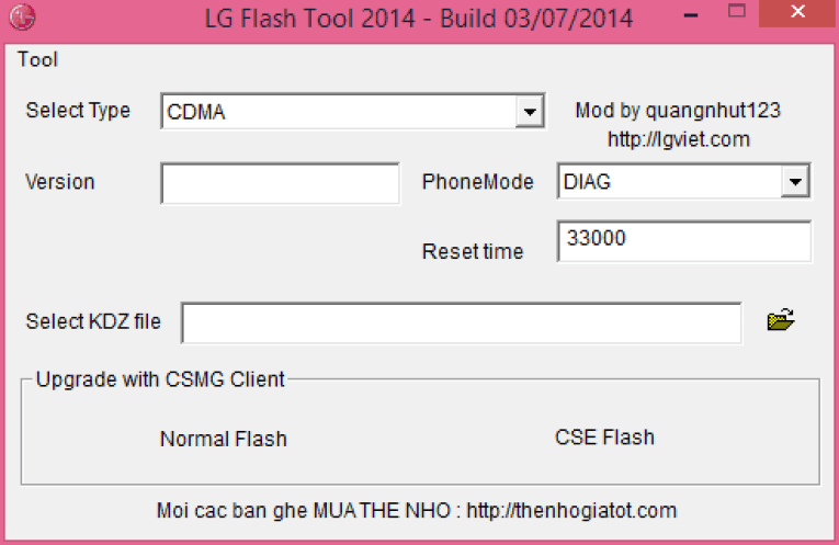 How to flash KDZ and TOT Firmware files on all LG Devices via Flash