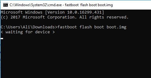 How to solve the 'Waiting for device' issue in adb and fastboot