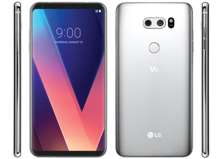 Verizon LG V30 VS99620g update brings portrait mode for front camera