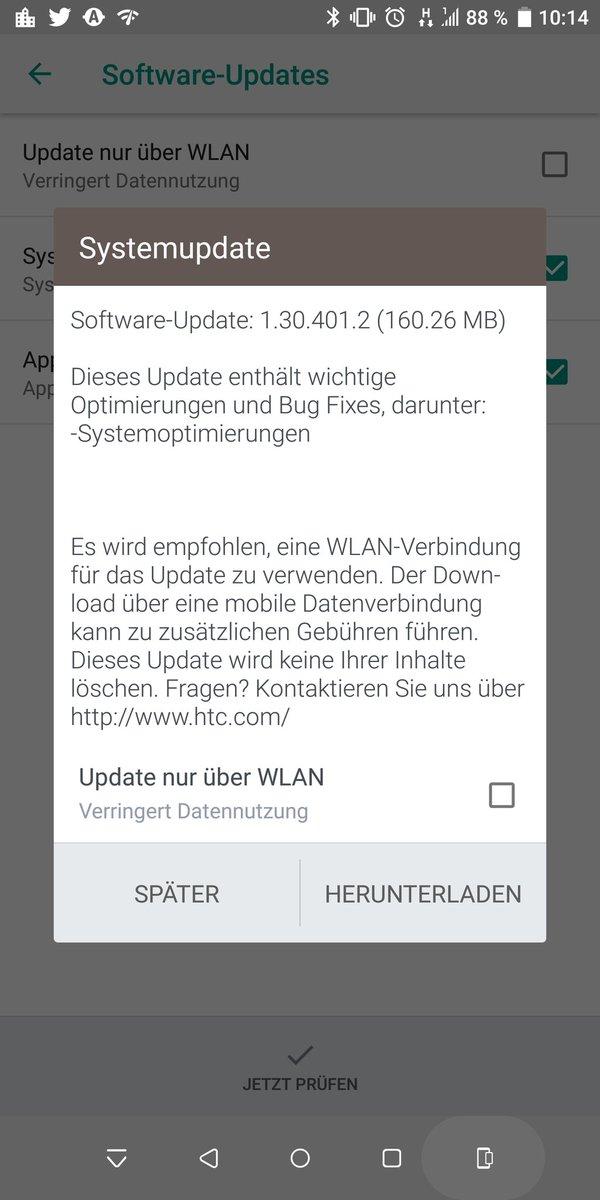 HTC U12+ gets September 2018 update – build 1.30.401.2