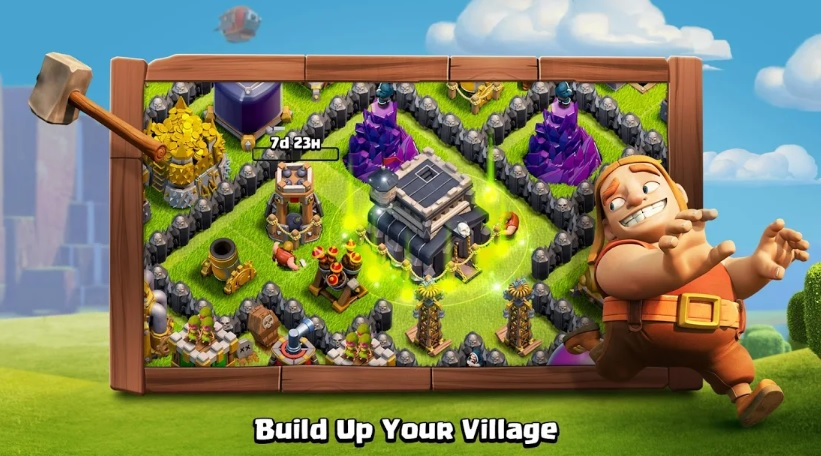 Download Clash of Clans 11.185.19 Apk mod – Unlimited gems, elixir and more [February 2019]