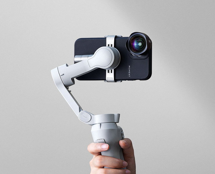 DJI Osmo Mobile 4 stabilizer for smartphones introduced