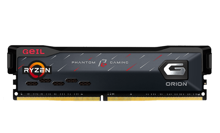 GeIL Orion Phantom Gaming Edition memory modules co-developed with ASRock