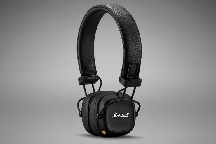 Marshall Major IV wireless headphones introduced: 80 hours of autonomy and Qi support