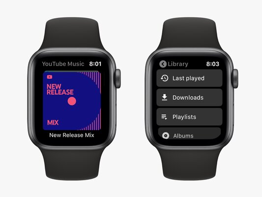 YouTube Music shows that Apple Watch is more important to Google than Wear OS