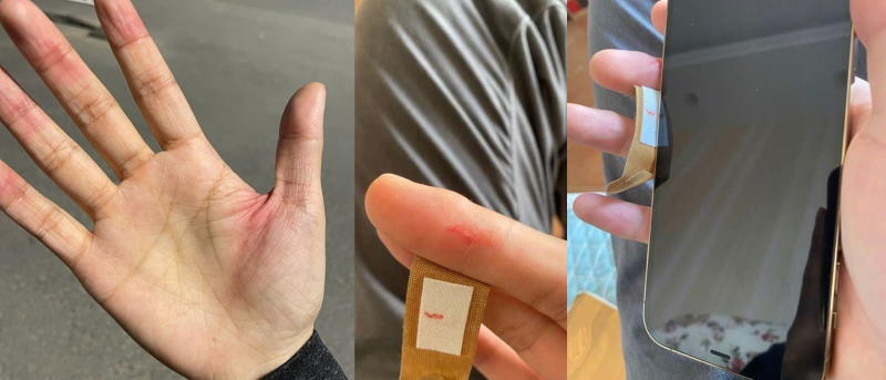 People cut their hands on iPhone 12 - edges are too sharp - Gadget Tendency