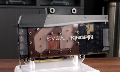 EVGA unveils GeForce RTX 3090 Kingpin Hydro Copper