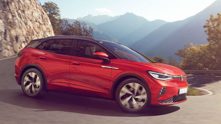 Volkswagen ID.4 GTX sports electric crossover unveiled