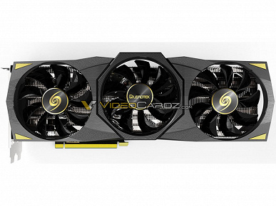 This is what the GeForce RTX 3080 Ti looks like.  Leadtek GeForce RTX 3080 Ti WinFast Hurricane Official Images
