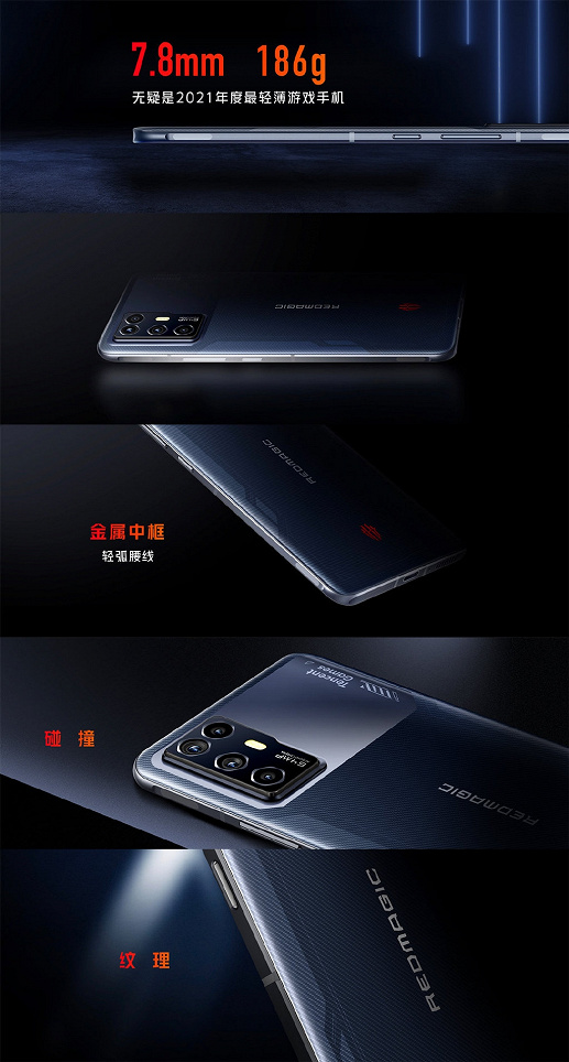 Redmi K40 Game Enhanced Edition record beaten: Nubia Red Magic 6R is the new lightest and thinnest gaming smartphone