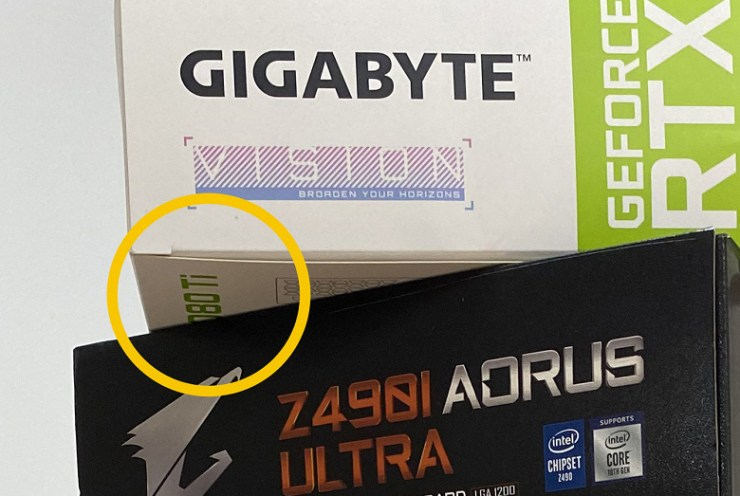 Gigabyte has (by chance?) Confirmed its intention to release an RTX 3080 Ti graphics card